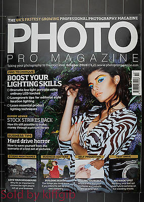 Photo pro magazine October 2010