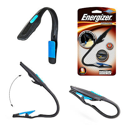 Energizer Clip On Booklite for Amazon Kindle E-Reader Book Reading LED Light
