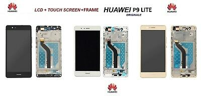 Lcd Display Huawei P9 Lite Vns-L31 L 23 Frame Schermo Vetro Touch Screen Nuovo