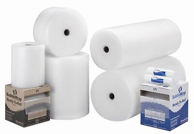 Large / Small Bubble Wrap 300 500 600 750 1000 1200 1500 mm x 50m / 100m Roll