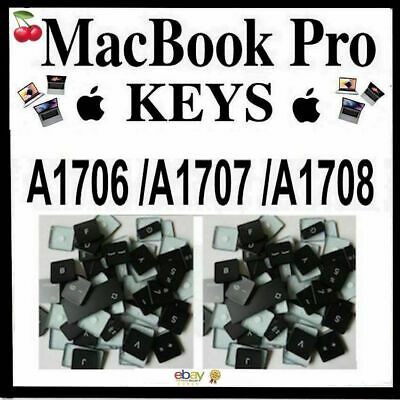  Macbook Pro Keys Models: A1706 / A1707/ A1708 With & W/O Touch Bar 