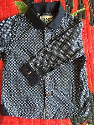Boys Smart Shirt 12-18 Months Next Excellent Condition