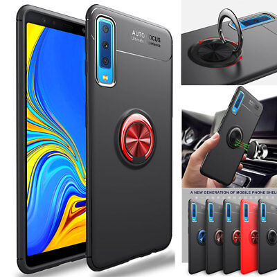 Shockproof Rubber Hybrid Armor Stand Case Cover for Samsung Galaxy A7 2018/J4 J6