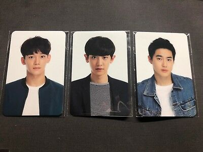 EXO OFFICIAL The EXO'luXion Encore Tour Concert Photocard Suho Chanyeol Chen