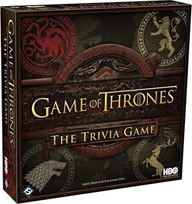 HBO Game of Thrones - Trivia Game -  2 + Players