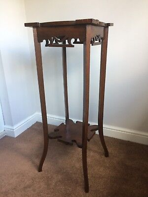 Wooden Antique Plant Stand (1885), 94cm tall, good condition