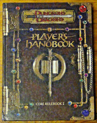 Dungeons & Dragons 3.0 - Core Rulebook I - Players Handbook - englisch