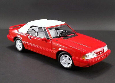 1992 Ford Mustang 5.0 LX Convertible - Vibrant Red 1:18 GMP PRE-ORDER LE MIB