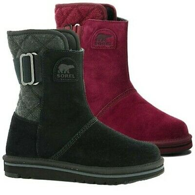 b53d19f1c 2019 Sorel Ladies Newbie Boot Suede Leather Thermal Water Resistant Outdoor  New