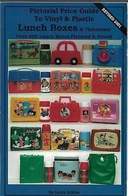 Pictorial Price Guide to Vinyl & Plastic Lunch Boxes & Thmoses-600 Pictures-Pric