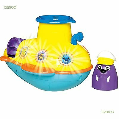 New Tomy See Under The Sea Submarine Toddlers Childrens Bathtime Fun Toy 72222