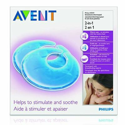 Philips Avent Breastcare Thermo Pads, 2-in-1 Stimulate Milk Flow & Soothe SCF258