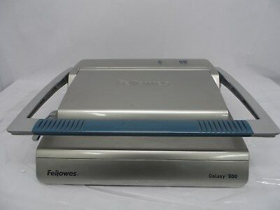 Fellowes Galaxy 500 Manual Comb Binder Used Condition Binding Office Printing