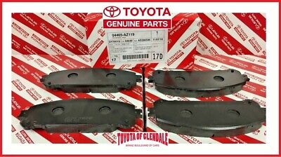 2008-2018 Toyota Highlander / Hv Front Brake Pads Genuine Oem New 04465-Az119