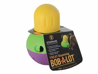 Hot StarMark Bob-A-Lot Interactive Dog Toy, Small, New
