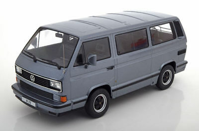 VW Bus T3 Porsche B32  1984 - grey met.  - 1:18 KK-Scale  >>NEW<<