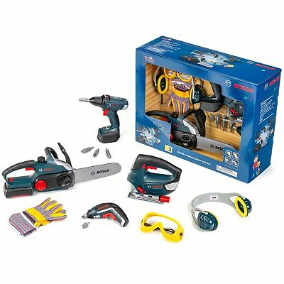Bosch Large Toy Power Tools, 14-Piece Set FREE SHIPPING/ FREE RETURNS *BRAND NEW