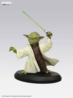 Attakus Star Wars Sw Elite Collection Yoda Version 3 Ca 8Cm Resin Statue Figur