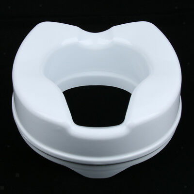 4inch Patient Elderly Handicapped Toilet Seat Riser Elevated Lifter Extender