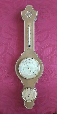 FCC Barometer with Humidity and Thermometer (non mercury)