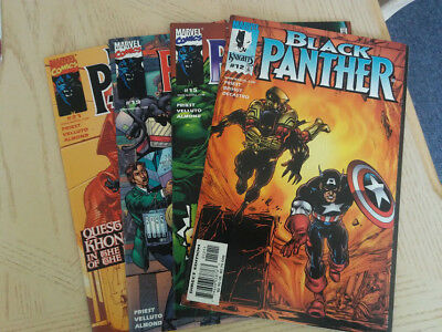 Black Panther Vol#3 Issues #12-15-19-21 (4 Comic Book Set) Near Mint Marvel 1999