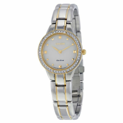 Citizen Silhouette Crystal Two Tone Women's Watch