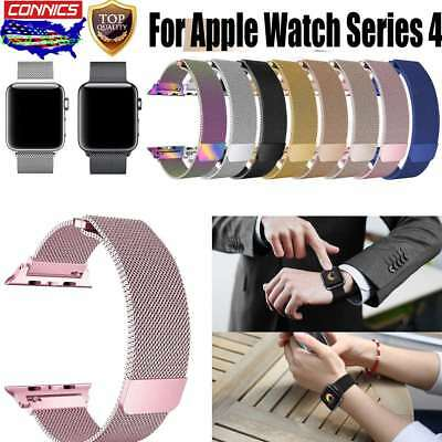 Magnetic Milanese Loop iWatch Band Strap for Apple Watch 1/2/3/4 Sport Stainless
