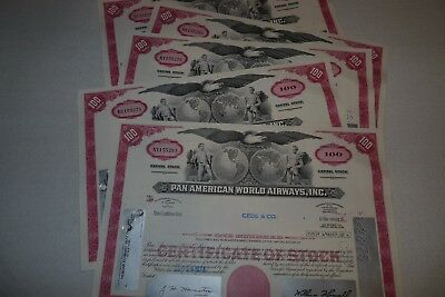 Lot 10 Stück - Pan American World Airways Inc. , USA