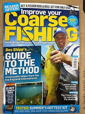 Improve Your Coarse Fishing Magazine August 28-September 25 2018 - New