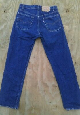 Original Vintage Levis 505-0216 Jeans, 31X31,made In Usa