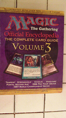 magic the gathering official encyclopedia, The Complete Card Guide Volume 3