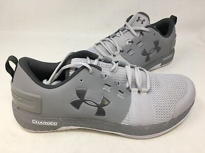 more photos cacec 963a6 NEW! UNDER ARMOUR Men's Commit Training Shoes Grey #1285704 10R3 tz