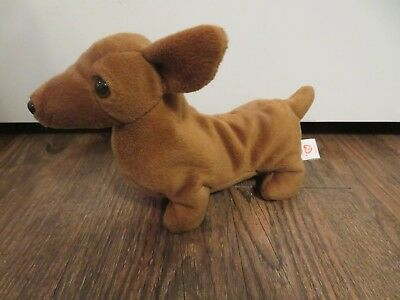 92420475154 TY BEANIE BABY ~ WEENIE the Dachshund Dog ~ MINT with MINT TAGS ...