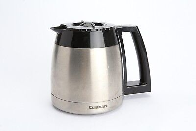 Cuisinart Thermal Stainless Steel Coffee Pot Carafe 10 Cup Replacement