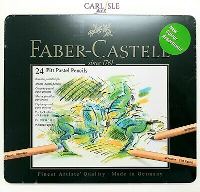 Faber-Castel - PITT Pastel Pencils - Tin Of 24