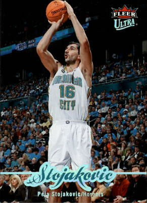 b994ddf079c 2007-08 Ultra SE New Orleans Hornets Basketball Card #120 Peja Stojakovic