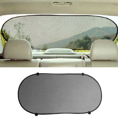 Car Rear Back Window Sun Shade Cover Visor Shield Screen Mesh Block Foldable PF