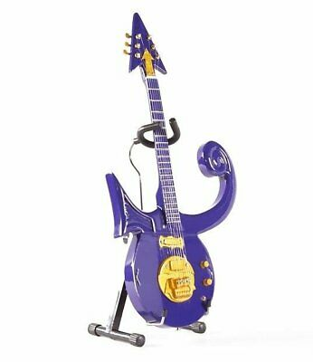 Prince Nelson Rogers Purple Miniature Guitar Stand Axe Heaven PR-285