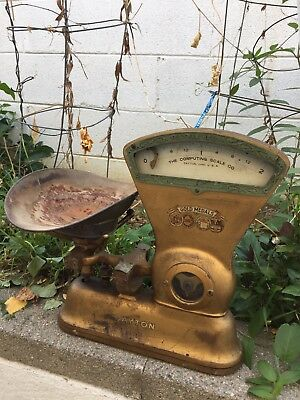 Antique Toledo Country Store Candy Scale