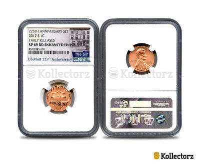 2017 S 225Th Anniversary Set 1C Ngc Sp69 Rd Enhanced Finish Early Releases