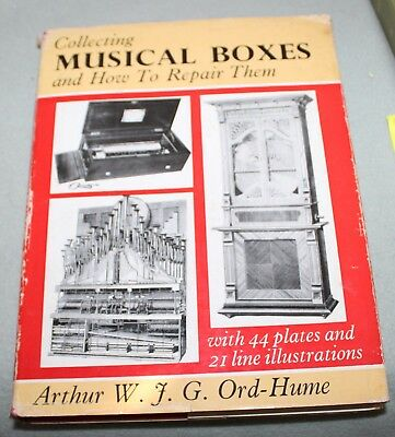 Collecting Musical Boxes and How to Repair Them WGF Ord Hume