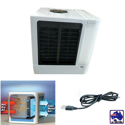 Portable Air Cooler Conditioner Cool Cooling Bedroom Mini Fan Office HCF024665