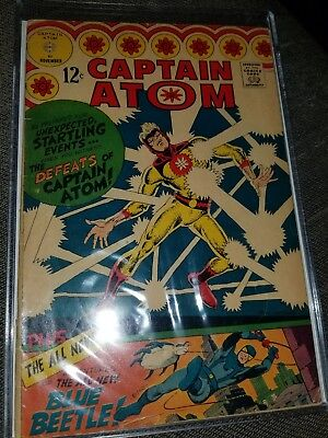 CAPTAIN ATOM  #83  [1966 GD-VG]  1ST TED KORD! 1ST Blue Beetle