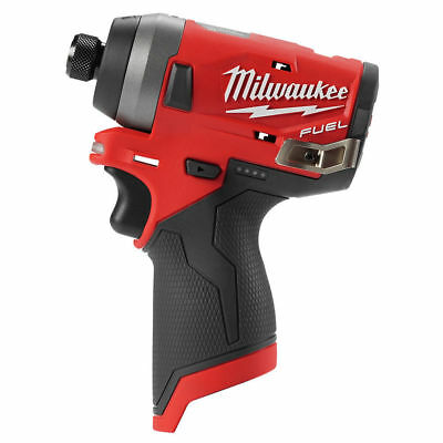 Milwaukee 2553-20 M12 FUEL Li-Ion 1/4 in. Hex Impact Driver (BT) New