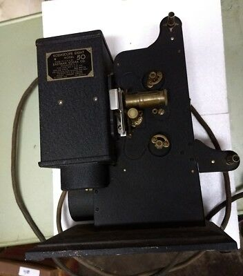 Vintage Kodak Kodascope Eight Model 50 8mm Movie Projector