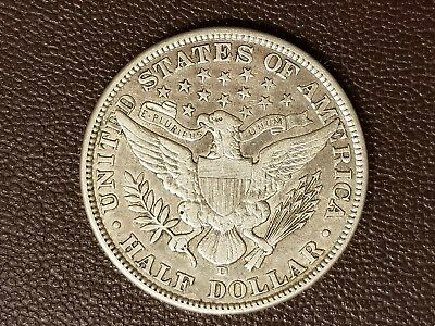 US 1913 D 50c EF 534,000 minted; possibly cleaned
