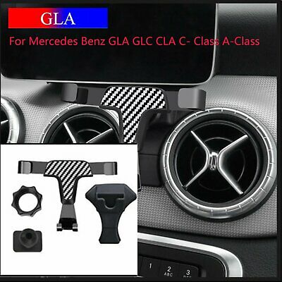 For Mercedes Benz GLA GLC CLA C-Class Car Air Vent Mount Phone Holder Stand