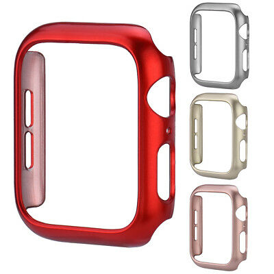 For Apple Watch Series 4 PC Case Protective Frame Bumper Cover 40mm/44mm