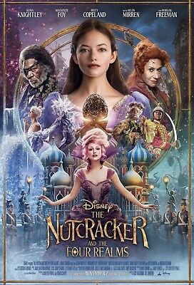 The Nutcracker And The Four Realms Double Sided Movie Poster 27x40