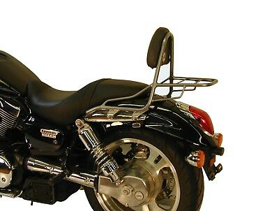 Honda VTX 1800 Sissybar with rearrack BY HEPCO AND BECKER